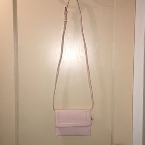 Pink crossbody purse